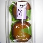 祖谷庄 千寿庵 - 2016年のあんわらび餅(栗あん)160円