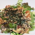 TAKU - キノコとベーコンの温サラダ