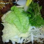 TAKU - ぶりしゃぶの野菜