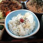 大川屋 堤町支店 - カルビ焼肉定食