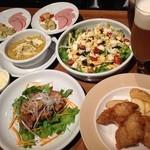 BEER JUNKIE MOTEL - ロフト限定飲み会プランの料理