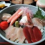 とろろ家 - 7種海鮮丼(とろろは付きません)