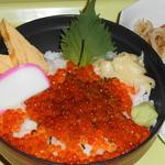 土浦魚市場 - いくら丼