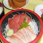 土浦魚市場 - 刺身定食1