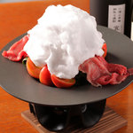 呵呵 - 山形牛とフルーツトマトの雲海すき焼き