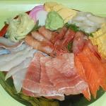 土浦魚市場 - 魚市場大漁盛り