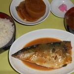 土浦魚市場 - 煮魚定食