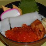 土浦魚市場 - 北海丼