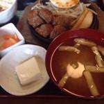 金太郎 - サイコロステーキ定食520円