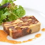 カルナヴァル - 牛スジの赤ワイン煮と筍、フォアグラのテリーヌ