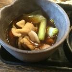 薮伊豆 - つけ汁