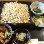 薮伊豆 - 肉汁せいろ(ぶたじるせいろ)