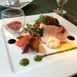 ヴェルデ辻甚 - 2016年4月ランチの前菜