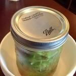 みずほ台バル RINO - 料理写真:瓶入りサラダ、面白い提供の仕方だ!
