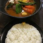 lavi - チキンと野菜のスープカレー☆ライス