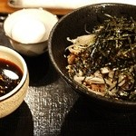 つけソバ ゴクツブシ - 料理写真:肉つけSOBA(温)