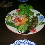 クローバー - ヤムママー タイの袋麺を使ったサラダ