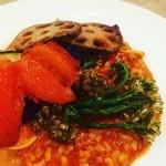 オーガニック野菜のトマト玄米リゾット