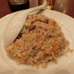 49559346 - 炒飯は、先に出てきます。