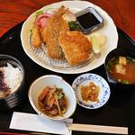 と魚家 - 魚のフライ定食