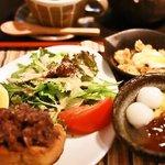 あべまき茶屋 - モーニング 甘味セット