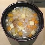 三代目 まる天 - 味噌汁