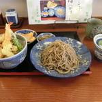 そば処 吉邦 - もりそばと小天丼(ランチ)