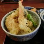 そば処 吉邦 - もりそばと小天丼(ランチ)の小天丼