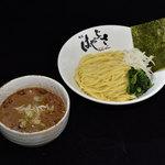 横浜家系 麺屋はやぶさ - 塩すっぱつけ麺 770円