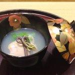 日本料理 太月 - 2016/2椀物:はまぐり