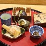 日本料理 太月 - 2016/2筍、なす、うすい豆等