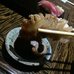 吉祥 美味上手 - 吉祥 美味上手(岡山県岡山市北区田町)にぎり盛り合せ 一人前 特上(七カン)赤貝