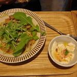 ココノハ - 柚子と醤油の和風ボンゴレランチセット