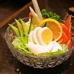 重亭 - 野菜サラダ