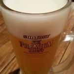ネギッチン negi negi - 生ビールでスタート!