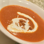 オリアン - オリアン(岡山県岡山市北区中山下)カボチャのスープ