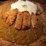 ブルックスカレー食堂 - 熟成ロースカツカレー、950円