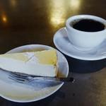 CLAMP COFFEE SARASA - コロンビア、チーズケーキ