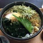 喜味屋食堂 - 冷やしたぬきそば 大盛 ¥850