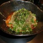 汁なし担担麺専門 キング軒 - 汁なし担担麺大盛り2辛680円