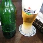 ガリバー - ハートランド 500円(グラスは、ハイネケンなんですか~ww)
