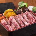 熟成神戸牛と旬野菜グリルのお重