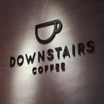 ダウンステアーズコーヒー - サイン