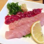 たちばな - 料理写真:お刺身盛り合わせ〜( ´ ▽. ` )ノ