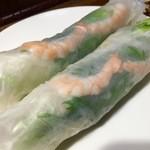 サイゴン - 生春巻き@600円  美味い!