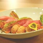 旬席 鈴江 - 鮪と赤貝 鮨