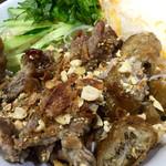 サイゴン - 豚肉と揚げ春巻きのビーフン@1000円  美味すぎる!具沢山の欲張りメニュー!