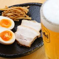 麺や櫻陣 - おつまみ三点盛