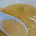 麓郷舎 - しおスープ