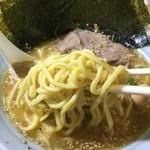 入船食堂 - 太麺もっちり!